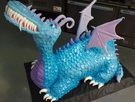 Custom Dragon Cake