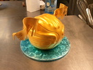 Harry Potter Golden Snitch Cake